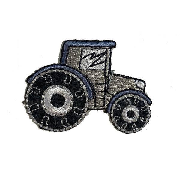 Grå traktor- Strykemerke