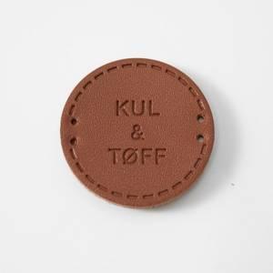 Bilde av Rund Skinnlapp Kul og Tøff