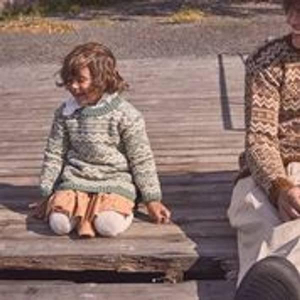 Valldal genser barn - Garnpakke