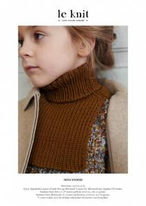 Bilde av le Knit - Mini Snood/ Hals -Garnpakke